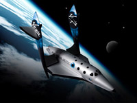 SpaceShipTwo to Take the Lucky to the Stars