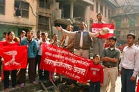 General strike partially shuts down southern Nepal