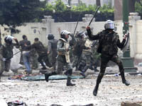 Violence in Egypt continues for third consecutive day. 46189.jpeg