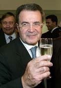 Prodi gets mandate from Italy's president to form government