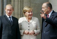 Putin creates new axis in Europe to oppose USA's global hegemony