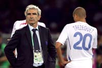 Raymond Domenech believes Marco Materazzi should have been man-of-the-match in last year's World Cup final