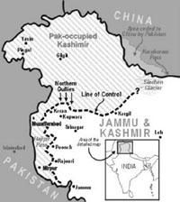 Kashmir: separatists protest Indian president's visit