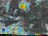Texas and Louisiana await Tropical Storm Humberto