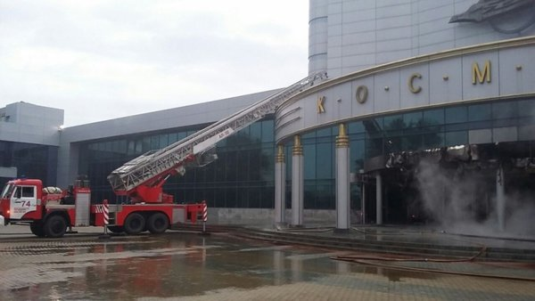 Vehicle loaded with petrol and gas cylinders rams into cinema in Yekaterinburg. 61193.jpeg