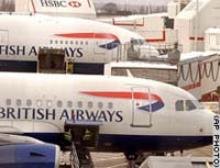 British Airways says plane at Moscow airport will fly to London on Friday for radiation check