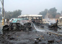 Car Bombs Kill 8 in Baghdad