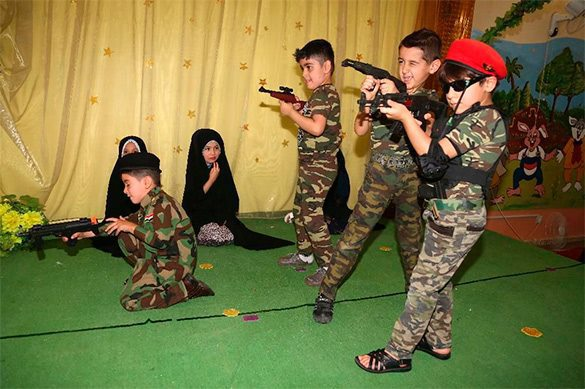 IS kidnaps 127 kids in Iraqi Mosul to train suicide-bombers. ISIS