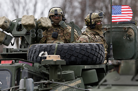 US ground operation in Iraq: PR campaign to curb Russia's influence. US ground operation in Iraq