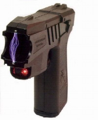 Death raises question of electric stun gun's use