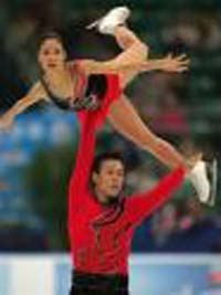Chinese figure skating pair improves speed
