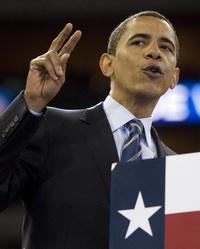 Barack Obama Visits New Orleans