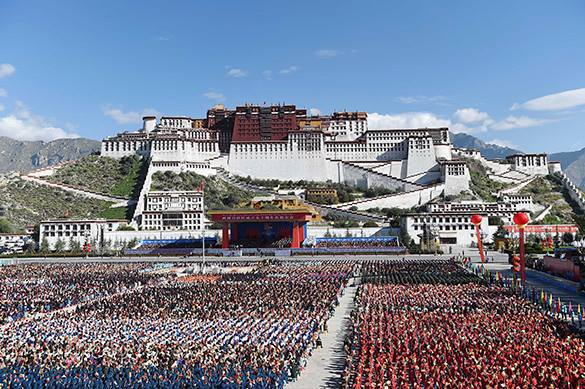 "China to ""decisively combat"" separatism in Tibet. China"