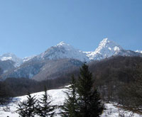 Avalanche kills 10-year-old girl in Krasnaya Polyana