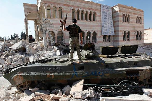 Syrian army regains large oil deposits from Islamic State. Syria