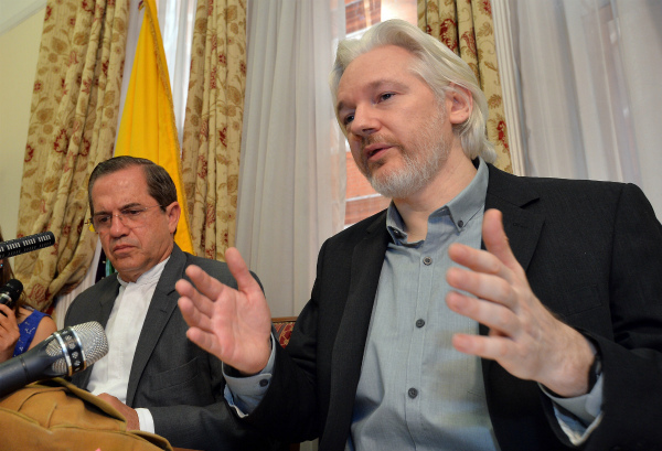 Julian Assange's new book sees light in Britain and Australia. Assange