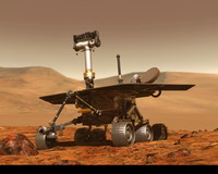 Marsian dust storm can affect rovers