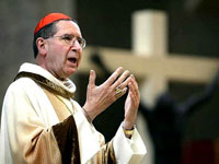 Los Angeles Cardinal Roger Mahony assaulted