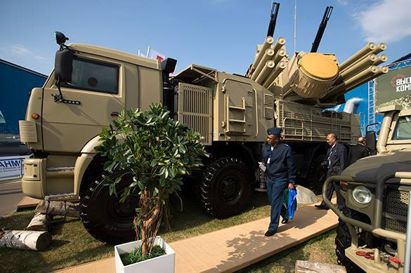 Brazil wants Pantsir-S1 surface-to-air missile system. Weapons