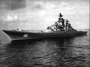 Nuclear cruiser Admiral Ushakov