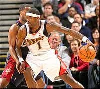 Warriors Jackson fined USD 50,000 by NBA