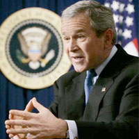 George Bush thinks nuclear agreement with India could help lower fuel prices