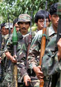Philippine communist rebels claim prison attack that netted more than 100 rifles