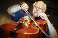 Cellist, human rights crusader Mstislav Rostropovich dies at age 80