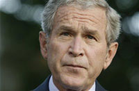 Bush believes bailout cost to be much less than 700 billion dollars