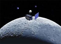 Japan's satellite reaches lunar orbit