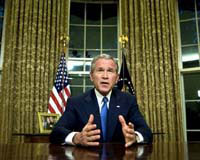 Bush to appear in televised address hoping to buy more patience about U.S. troops in Iraq