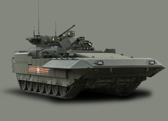 T-14 Armata: Russia's new six-zone tank shocks the West. T-14 Armata