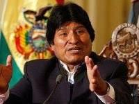 Bolivia: Evo Morales wishes Hugo Chávez speedy recovery. 49211.jpeg