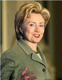 Clinton wants Bush to clean up situation in Iraq before he leaves office