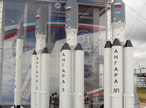 Russia successfully launches eco-friendly Angara-A5 rocket. Angara rocket launched into space