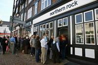 Northern Rock shares keep uncertain status
