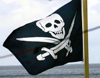 Modern banks appear to be most malicious pirates