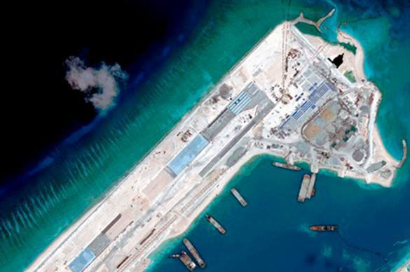 Vietnam lashes China for suspicious activity on Spratly Islands. Spratly Islands dispute