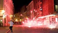 Second night of riots in Estonian capital injure 66, causes widespead damage