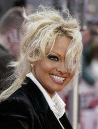 Pam Anderson marries wearing bikini