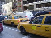 New York City yellow taxicabs to become hybrid