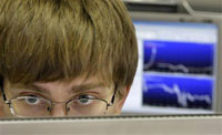 Russian stock market falls despite tender suspension