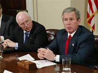 Bush and Cheney go after the Democrats