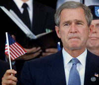 George Bush wants money to finance US security needs
