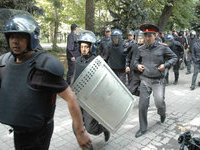 State of emergency introduced in Kyrgyzstan over mass riots. 50222.jpeg
