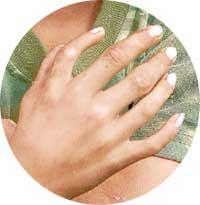 Six-fingered hand
