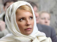 Ukraine's Yulia Tymoshenko Talks to God Before Running for President