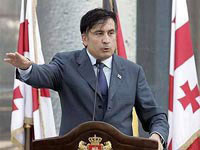 Georgia's Saakashvili Labels Russia as Imperialist Enemy