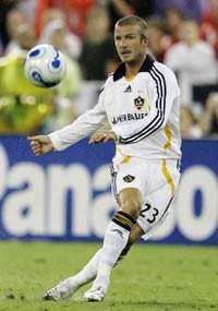 Beckham sits, Galaxy loses again