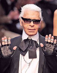 Chanel's Lagerfeld a ghost